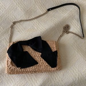 Kate Spade Crossbody Straw Bag